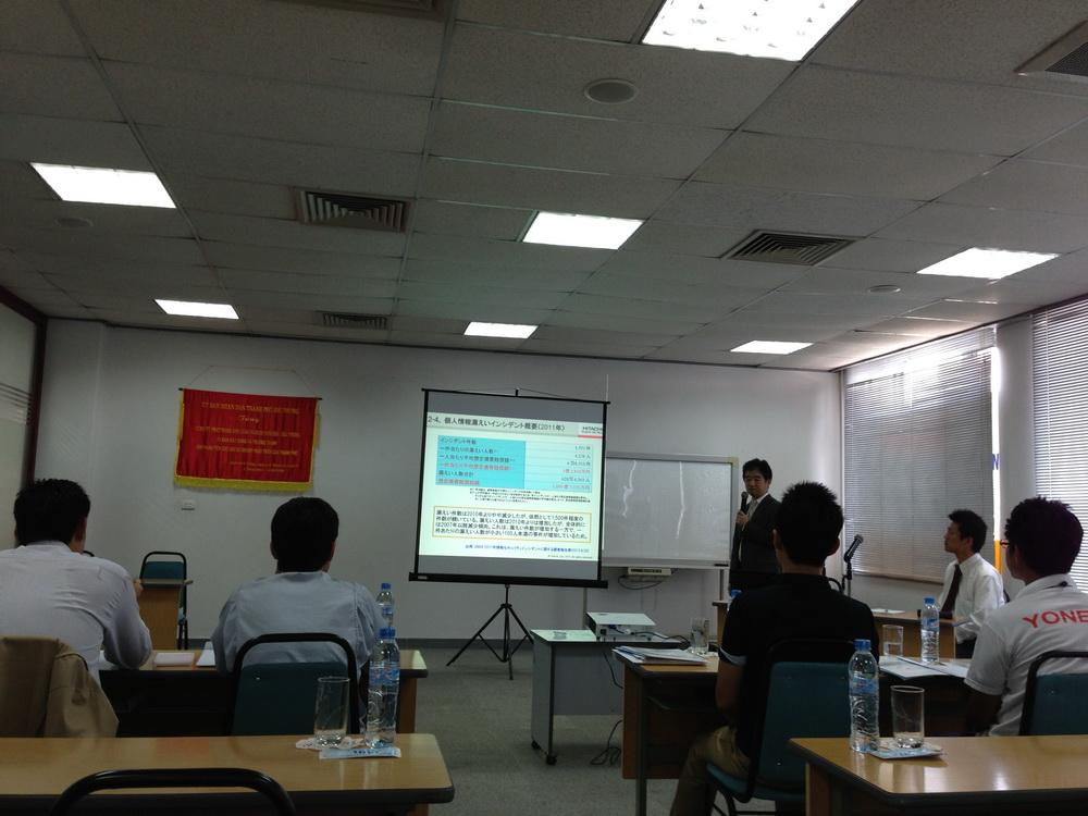 Seminar in Hanoi